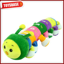 Caterpillar stuffed toy