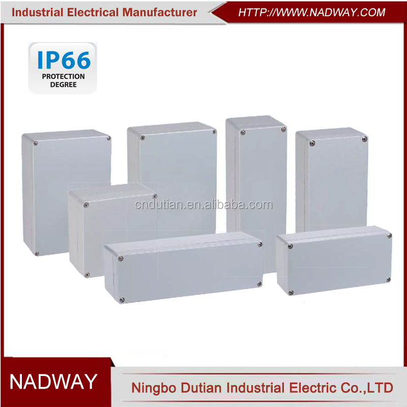 IP66 aluminum die cast metal explosion proof junction box