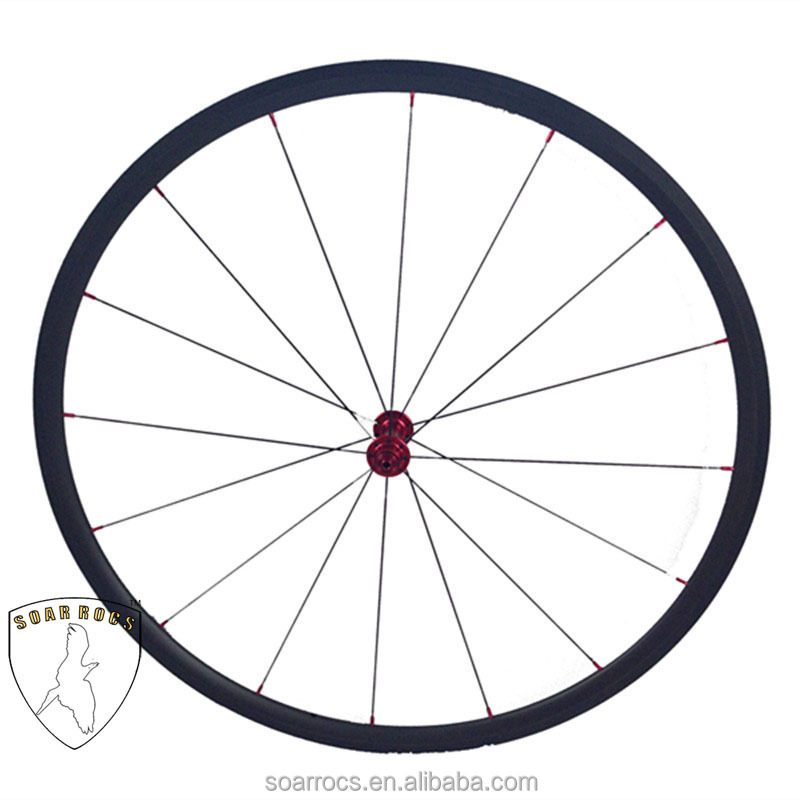 SoarRocs carbon wheelset Only 980g roues super leger 700C Ultra light wheel 24mm tubular carbon wheels ruote in carbonio 16h/20h