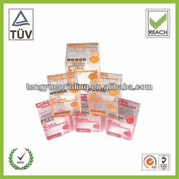 small transparent plastic cases/very small plastic boxes/gift packaging