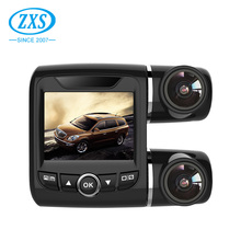 GPS Logger Wdr Full Hd 1080P Dual Camera Car Dvr, In car Vehicle Dash Cam With G-Sensor WiFi