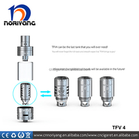 2015 Smoktech wholesale Top refill sub-ohm tank smok tfv4 tank kit with 3 different coils