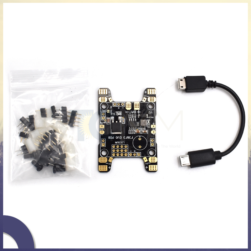 SP Racing F3 Flight Controller FPV Drone F3 EVO PDB Power Distribution Board with 5V 12V BEC PCB