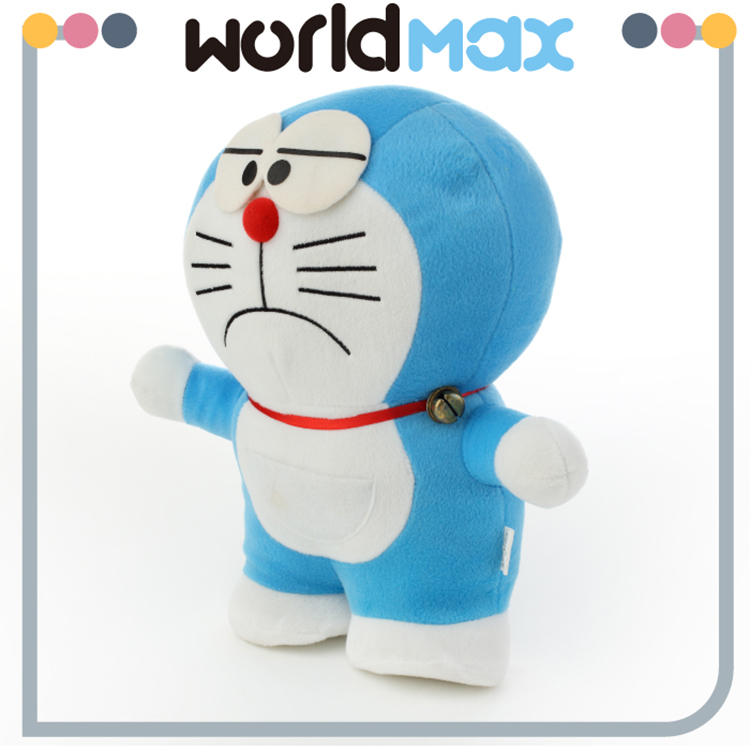 Festival Gift Graceful Soft Angry Doraemon Custom Baby Plush Toy