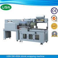 Film packing iphone box l sealing shrink wrapping machine