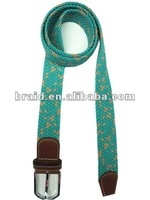 2012 hot selling fabric cotton belt