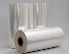 China supply PVC/PET/OPS/POF shrink film for beverage in roll