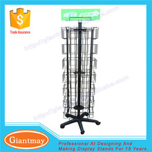 cheap price floor standing wholesale holder greeting card display stands racks for sale