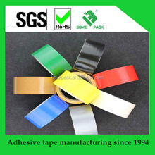 Hot Melt/Rubber Adhesive Duct Tapes with PVC fabric cloth as backing materials