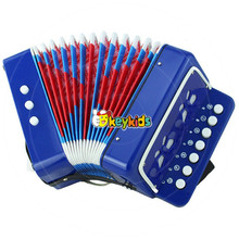 wholesale children wooden button accordion cheap baby wooden button accordion best kids button accordion for sale W07K006B