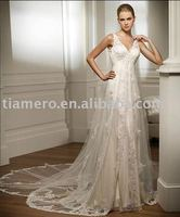 2011 Italian Style Lace Covered High Quality Elegant New Model Wedding Dress TH8367
