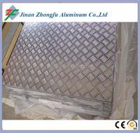 5 bar aluminum tread plate 1 piece kg weight aluminum skid sheet