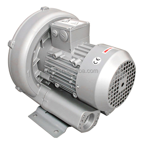 850W middle industrial side channel air blower