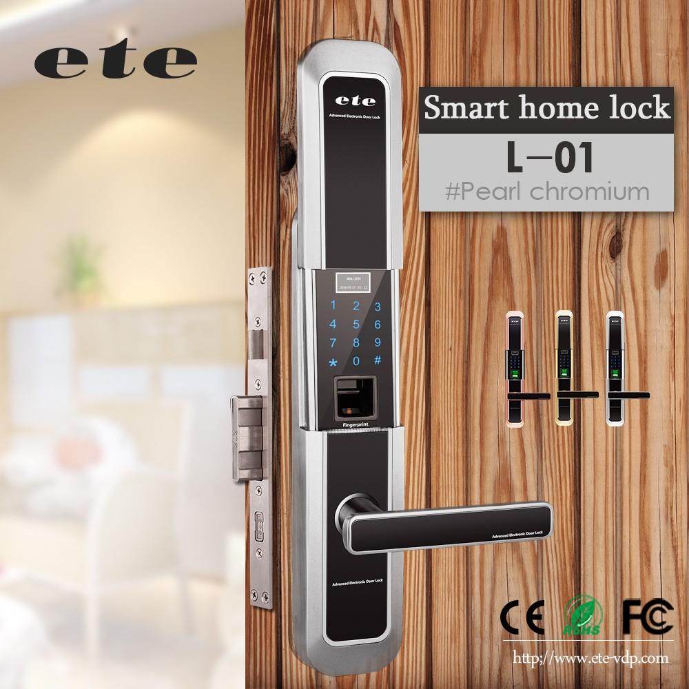 Ete Home Security Wifi Fingerprint Door Lock Fingerprint