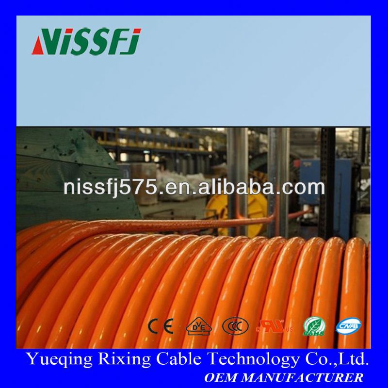 silicone rubber coated wire heat resistant oil resistance main use for high temperature service
