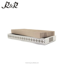 HOT sell Wear-resistant corrugated cardboard cat scratching CS-1001