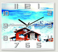HOUSE PICTURE WALL CLOCK