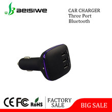 Fashion design high efficiency electric usb car charging adapter