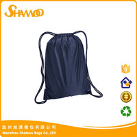 Hard strong waterproof nylon outdoor sport drawstring bag for shoes