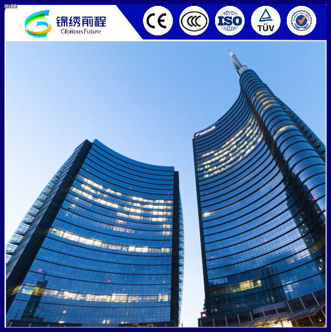 4mm-12mm Low-E Insulated Building Reflective Glass