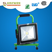 IP65 Led work light with magnetic base 50W led rechargeable floodlight