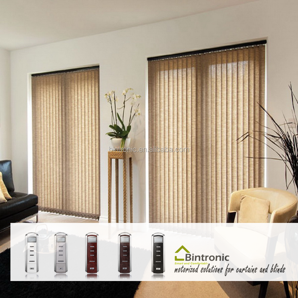 Bintronic Electric Blinds Home Appliance Manufacturers Taiwan Motorized Vertical Blinds Home Design Furniture