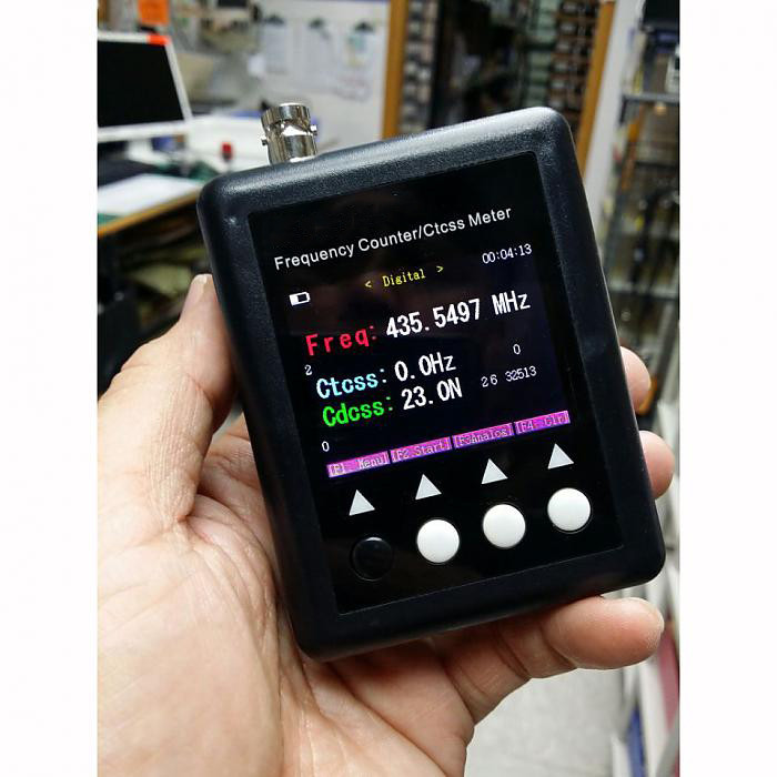 Mstar SF401-PLUS Portable CTCSS/DCS Decoder Frequency Counter