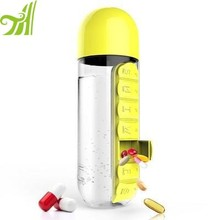 China Supplier Popular model water bottle with compartment
