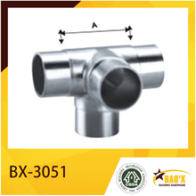 balustrade tube connector stainless steel pipe fitting handrail fitting