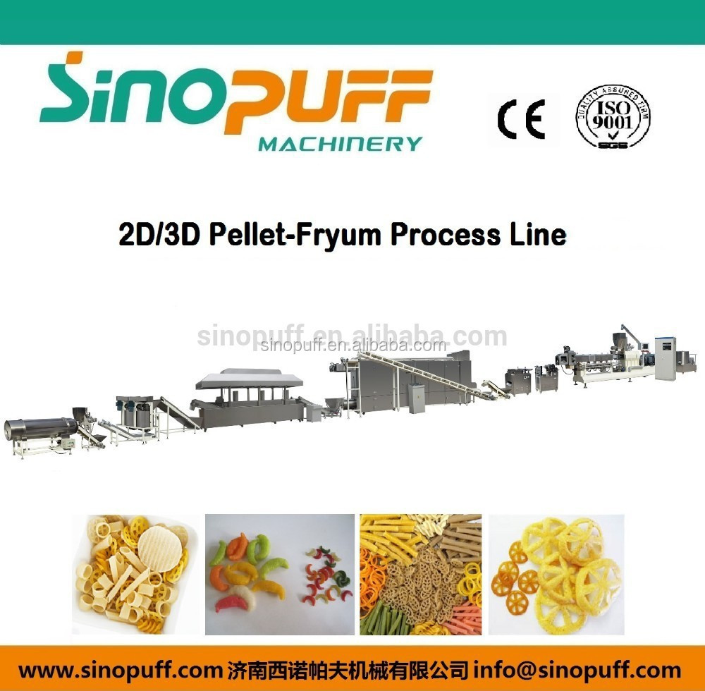 South American Brizal Mexico Extrusion Cereal Breakfast Processing Line For Sale/Puffed Rice Equipment