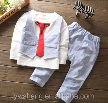 Wholesale baby boys fall boutioque outfits clothing sets
