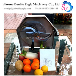 2018 New Design multifunction manual stainless steel lemon grapefruit slicing cutter/vegetables chipper
