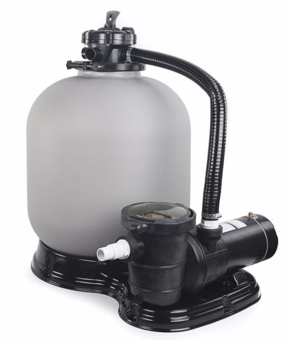 swimming pool sand filter and pump