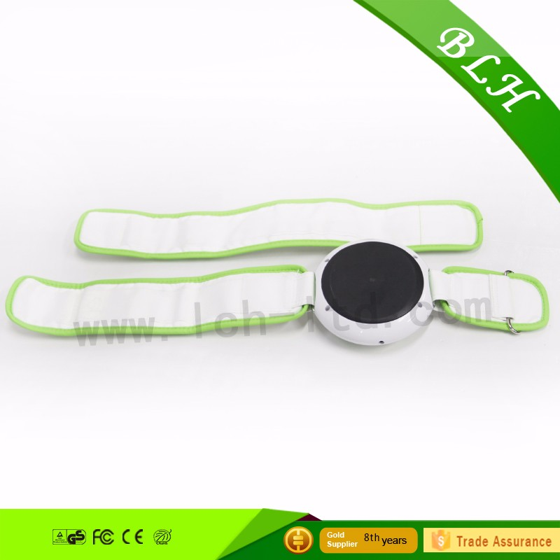 2016 Product Vibration fat burning massage vibrator hips thigh heated slimming belt waist vibrator for health care