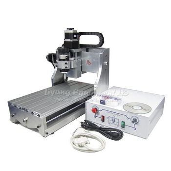 CNC Mini Desktop Engraving Machine 3020 Drilling Milling Carving Router work PCB Wood