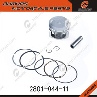for Bajaj CT100 53MM motorcycle piston with pins and rings/ oem quality