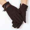 Hot selling gloves in Canada market woman fashion trendy wool gloves manufacturer