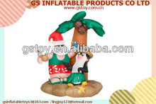 PVC inflatable christmas tree decorating ideas EN71 approved