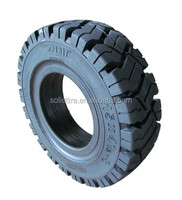 solid forklift rubber tire