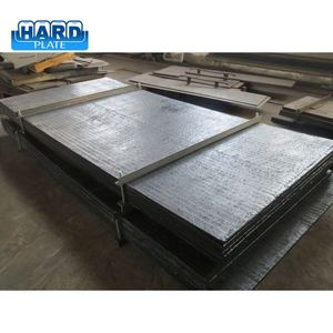 Trade assurance excellent for coal chutes bimetallic abrasion steel