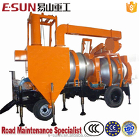 ESUN SLJ-16 Mobile 16t/h concise asphalt supply asphalt mixer truck