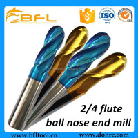 BFL Ball Nose End Mills Bit For Metal,Steel,Mold,Copper Processing