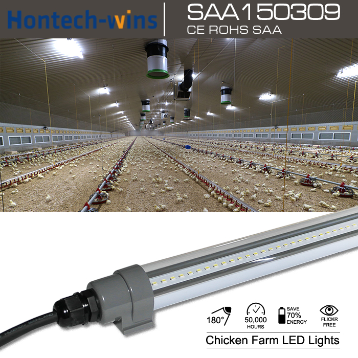 Poultry farm lighting chicken farm led lights coop farm T8 T12 lights IP68 LED TUBE, Dimmable IP68 LED Tube, IP68 LED Tube Light