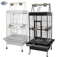 Wholesale customized metal strong play stand parrot cage pet bird cages