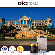 Wholesale Factory prcie Eco-friendly elastic water resistant granite stone paint