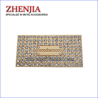 accessory metal label