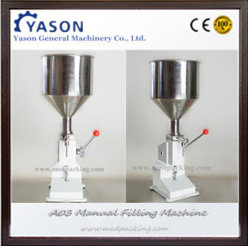 5~50ml Manual Cream Lotion Filling Machine