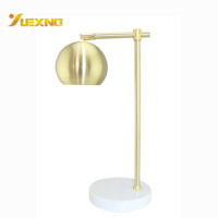 Metal Crystal With E27 Socket LED Reading Table Lamp Table Lighting Lamp