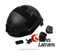tactical /safety /military /airsoft /plastic/paintball fast Jump Helmet black