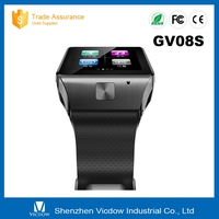 New style bluetooth smart watch GV08s with cheap price of smart watch phone support SIM card and camera